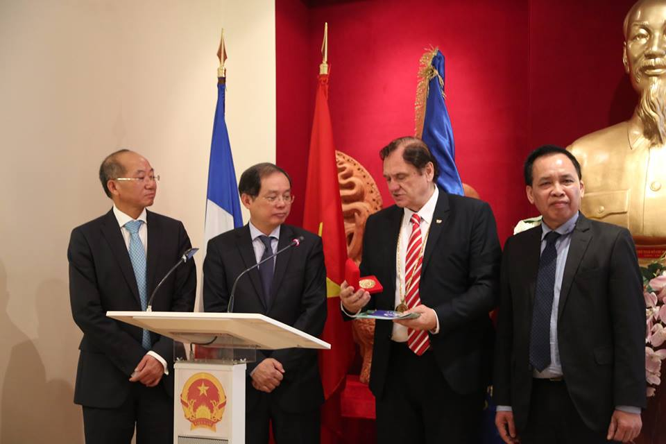 I.G.F. NEW MEMBER - VIETNAM , FRANCE 31 MARCH 2017