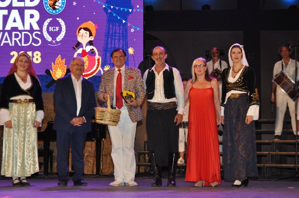 I.G.F. GOLD STAR AWARDS 2018 - Cyprus, Limassol