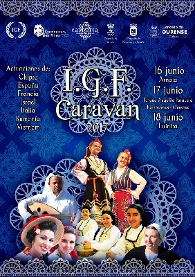 I.G.F. FOLK CARAVANA, BETWEEN 15 AND 19 JUNE IN PORTUGAL AND SPAIN