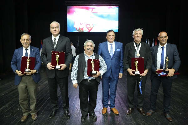 FIVE PERSONALITIES OF INTERNATIONAL CULTURAL STATUS WERE AWARDED PRIZES THIS YEAR IN KOSOVO